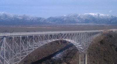 Photo of Bridge Rio Grande Gorge Bridge at Us Hwy 64, Taos, NM, United States