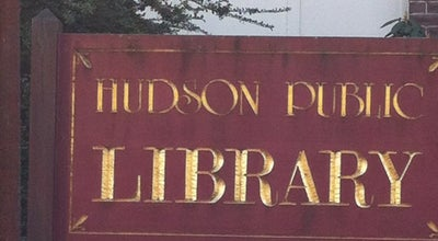 Photo of Library Hudson Public Library at 3 Washington St, Hudson, MA 01749, United States