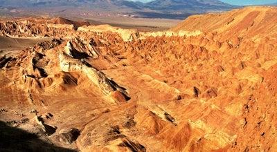 Photo of Nature Preserve Valle de La Luna at San Pedro de Atacama, Chile
