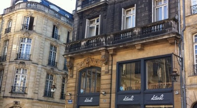 Photo of French Restaurant KARL at 6 Place Du Parlement, Bordeaux 33000, France