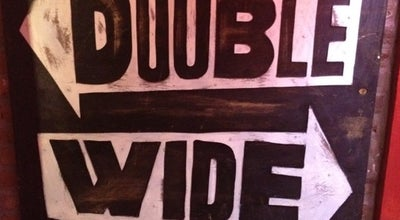 Photo of American Restaurant Double Wide Bar & Southern Grill at 505 E 12th St, New York, NY 10009, United States