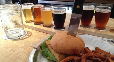Photo of American Restaurant Bull City Burger and Brewery at 107 E Parrish St, Durham, NC 27701, United States