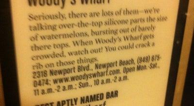 Photo of American Restaurant Woody's Wharf at 2318 Newport Blvd, Newport Beach, CA 92663, United States