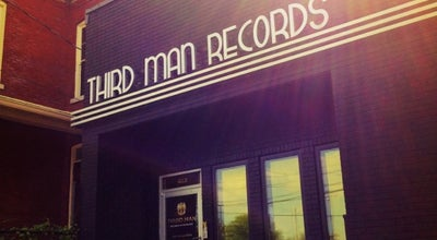 Photo of Tourist Attraction Third Man Records at 623 7th Avenue South, Nashville, TN 37203, United States