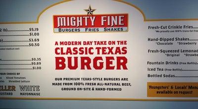 Photo of American Restaurant Mighty Fine Burgers at 1335 E Whitestone Blvd, Cedar Park, TX 78613, United States