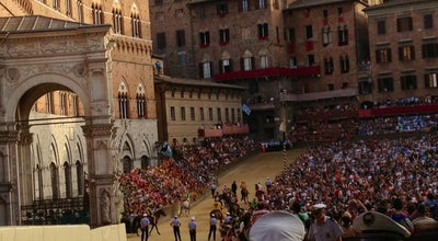 Photo of Historic Site Piazza del campo a Siena at Impruneta, Italy