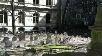 Photo of Cemetery King's Chapel Burial Ground at Tremont Street, Boston, MA, United States
