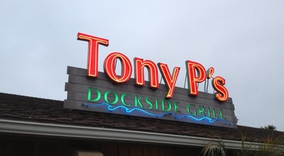 Photo of American Restaurant Tony P's at 4445 Admiralty Way, Marina del Rey, CA 90292, United States