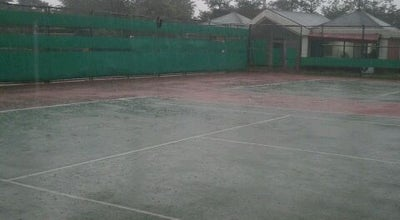 Photo of Tennis Court 관문체육공원 테니스장 at 대한민국 경기도 과천시 관문동 58-12, 과천시 427-020, South Korea