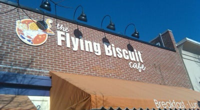 Photo of American Restaurant The Flying Biscuit Cafe at 2016 Clark Ave, Raleigh, NC 27605, United States