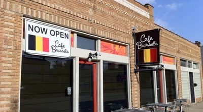 Photo of Belgian Restaurant Cafe Brussels at 1718 Houston Ave, Houston, TX 77007, United States