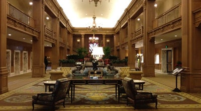 Photo of Hotel The Fairmont Olympic Seattle at 411 University St, Seattle, WA 98101, United States