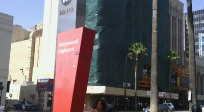 Photo of Subway Hollywood / Highland Metro Station at 6815 Hollywood Blvd, Los Angeles, CA 90028, United States