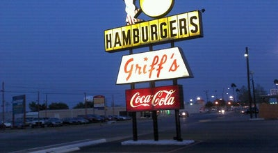 Photo of Burger Joint Griff's Hamburgers at 718 E Irving Blvd, Irving, TX 75060, United States