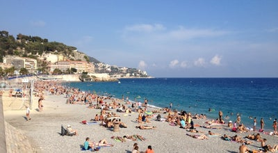Photo of Beach Plage de Nice at Quai Des États-unis, Nice 06000, France