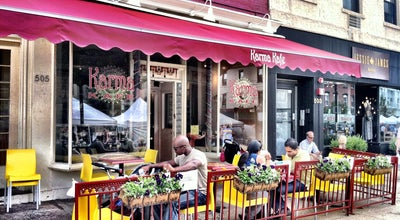 Photo of Indian Restaurant Karma Kafe at 505 Washington St, Hoboken, NJ 07030, United States