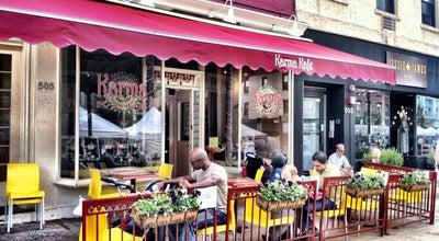 Photo of Indian Restaurant Karma Kafe at 505 Washington St, Hoboken, NJ 07030, United States