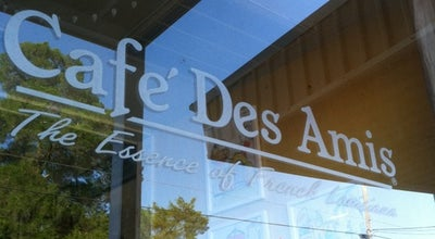 Photo of Cajun / Creole Restaurant Cafe Des Amis at 140 E Bridge St, Breaux Bridge, LA 70517, United States