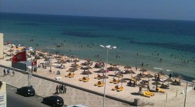 Photo of Beach Boujaafar   بوجعفر at Boulevard Hédi Chaker, Sousse 4000, Tunisia