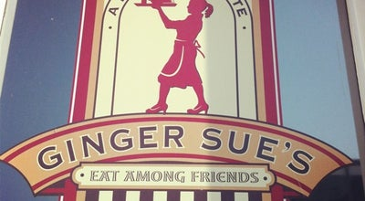 Photo of American Restaurant Ginger Sue's at 12 W Kansas St, Liberty, MO 64068, United States