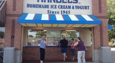 Photo of Ice Cream Shop Handel's Homemade Ice Cream & Yogurt at 8760 E 116th St, Fishers, IN 46038, United States