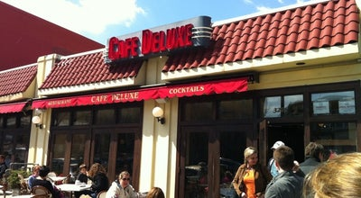 Photo of American Restaurant Cafe Deluxe at 3228 Wisconsin Ave Nw, Washington, DC 20016, United States