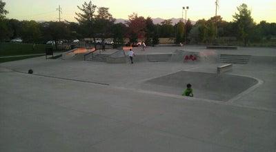 Photo of Skate Park Rosepark Skatepark at Salt Lake City, UT 84116, United States