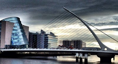 Photo of Bridge Samuel Beckett Bridge at Rocklands River Liffey, Dublin, Ireland