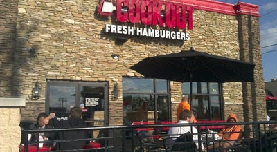 Photo of Fast Food Restaurant Cook Out at 2135 Cumberland Ave, Knoxville, TN 37916, United States