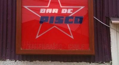 Photo of South American Restaurant Bar de Pisco at Almirante Montt 484 Cerro Alegre, Valparaiso 2371566, Chile