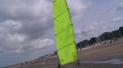 Photo of Beach Zeilwagen Centrum (LAZEF, De Krab, R.S.Y.C.) at Dynastielaan 20, De Panne 8660, Belgium