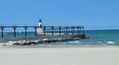 Photo of Beach Washington Park Beach at Park Entrance Rd, Michigan City, IN 46360, United States