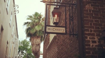 Photo of American Restaurant McCrady's  at 2 Unity Alley, Charleston, SC 29401, United States