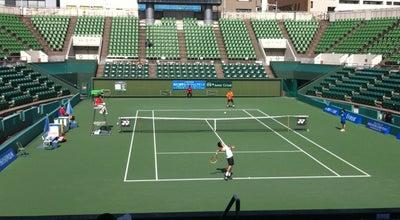 Photo of Tennis Court 靱テニスセンター at 靱本町2-1-14, 大阪市西区 550-0004, Japan