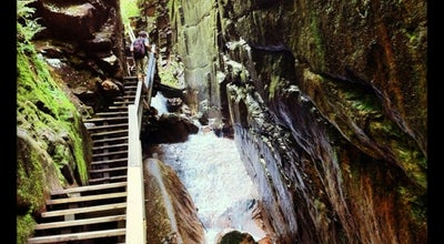 Photo of River Flume Gorge at 852 Daniel Webster Hwy, Lincoln, NH 03251, United States
