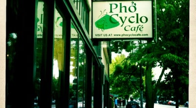 Photo of Asian Restaurant Pho Cyclo Cafe at 406 Broadway E, Seattle, WA 98102, United States
