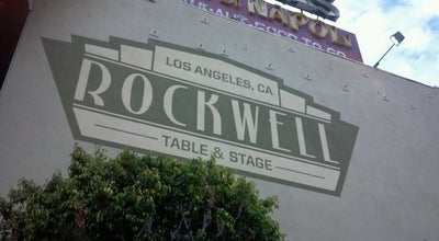Photo of Bar Rockwell Table and Stage at 1714 N. Vermont Ave., Los Angeles, CA 90027, United States