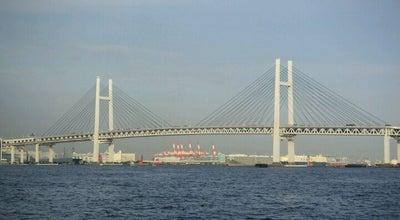 Photo of Bridge Yokohama Bay Bridge at 鶴見区大黒埠頭, Yokohama 230-0054, Japan