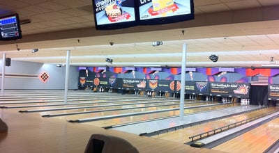 Photo of Bowling Alley AMF Carolina Lanes at 11210 Brigmon Ln, Matthews, NC 28105, United States