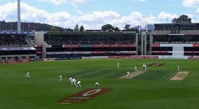 Photo of Cricket Ground Blundstone Arena at Derwent Street, Bellerive, Ta 7018, Australia