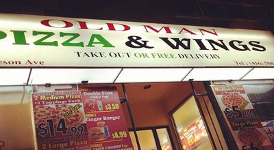 Photo of Pizza Place Old Man's Pizza at 223 Jameson Ave, Toronto, ON M6K 2Y3, Canada