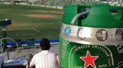 Photo of Baseball Field 대구시민운동장 야구장 (Daegu Civic Stadium Baseball Stadium) at 북구 고성로 191, 대구광역시 41594, South Korea