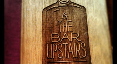 Photo of American Restaurant Tiny's & The Bar Upstairs at 135 West Broadway, New York, NY 10002, United States
