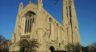 Photo of Monument / Landmark Rockefeller Memorial Chapel at 5850 South Woodlawn Avenue, Chicago, IL 60637, United States