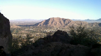 Photo of Trail Camelback Mountain Summit Trail at 33.5237°n 111.9733°w, Phoenix, AZ 85001, United States