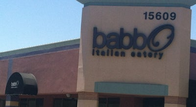 Photo of Italian Restaurant Babbo Italian Eatery at 15609 W Bell Rd, Surprise, AZ 85374, United States