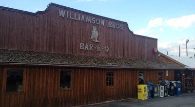 Photo of American Restaurant Williamson Brothers Bar-B-Q at 1425 Roswell Rd, Marietta, GA 30062, United States