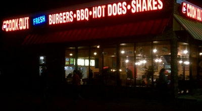Photo of Fast Food Restaurant Cookout at 430 N Berkeley Blvd, Goldsboro, NC 27534, United States