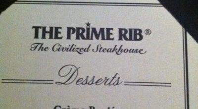 Photo of American Restaurant The Prime Rib at 2020 K Street N.w., Washington DC, DC 20006, United States