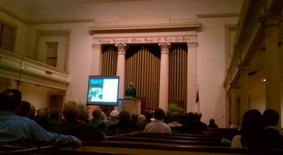 Photo of Venue Trinity United Methodist Church at 225 W. President Street, Savannah, GA 31401, United States